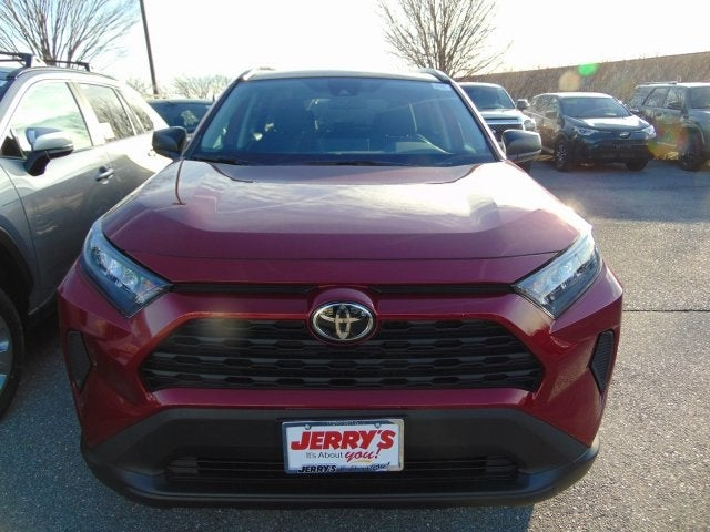 2019 Toyota Rav4 Fwd Le Baltimore Md Serving Perry Hall White