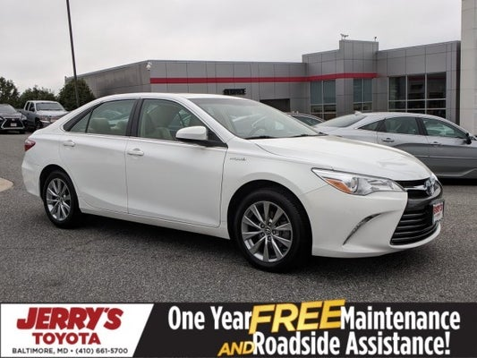 2017 Toyota Camry Hybrid Xle In Baltimore Md Jerry S