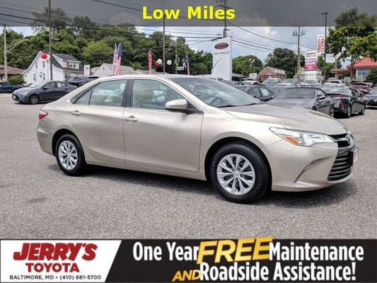 2016 Toyota Camry Le In Baltimore Md Jerry S