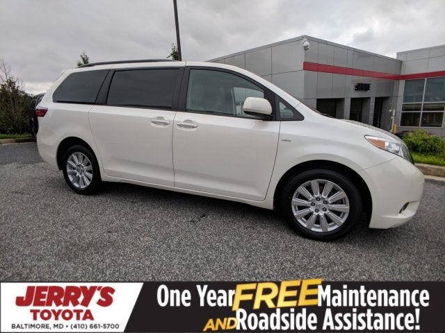 2017 Toyota Sienna Xle In Baltimore Md Jerry S