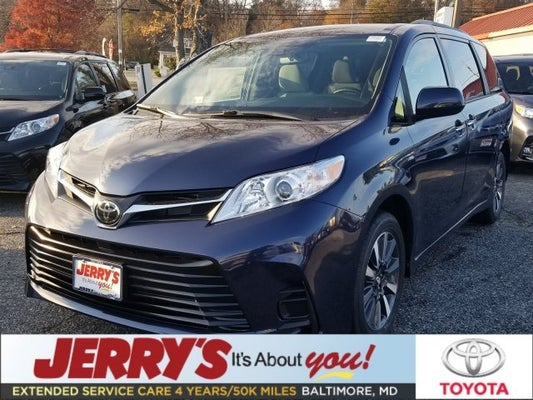 2019 Toyota Sienna Awd 7 Penger V6 Le In Baltimore Md Jerry S