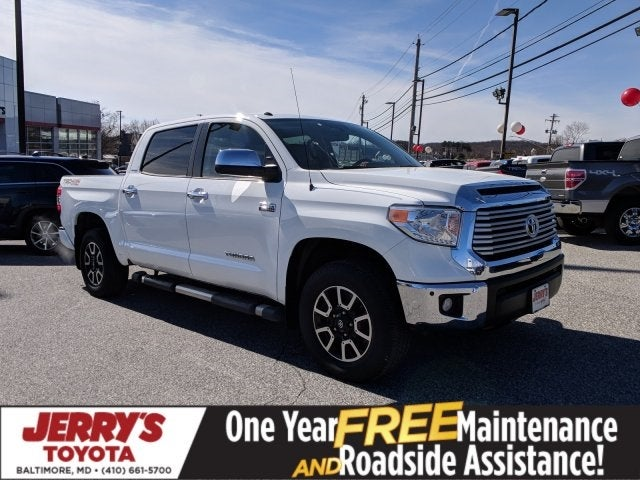 2016 Toyota Tundra 4wd Truck Ltd Baltimore Md Perry Hall White Marsh Towson Maryland 5tfhy5f19gx531661