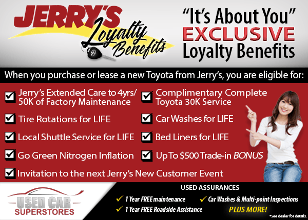 Toyota Dealers In Md >> Why Buy From Jerry S Toyota In Baltimore Md Jerry S Toyota