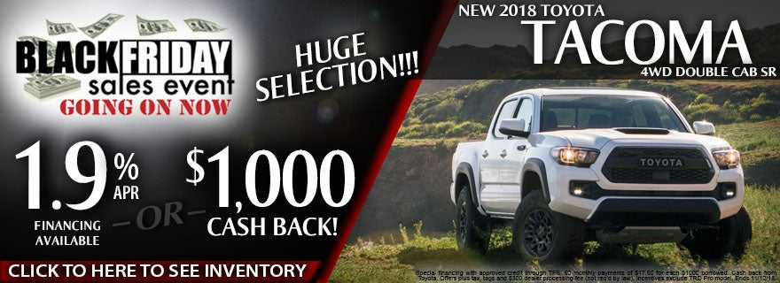 Tacoma Back Pages >> 2018 Toyota Tacoma 4wd Double Cab Sr Jerry S Toyota