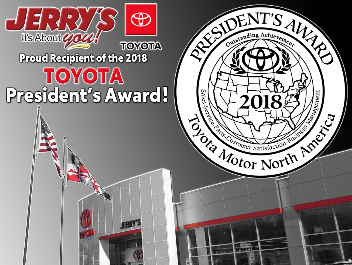 Toyota Dealers In Md >> Award Winning Toyota Dealer Jerry S Toyota Baltimore Md